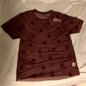 NWT - Romeo and Juliet Couture Sheer Star Top